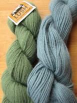 yarn for Teri's shawl