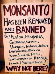 Monsanto banned why not here